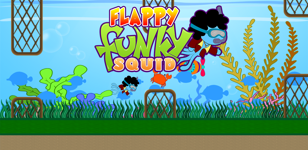 Flappy Funky Squid
