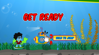 Funky Squid Goes Jumping - android_tablet6