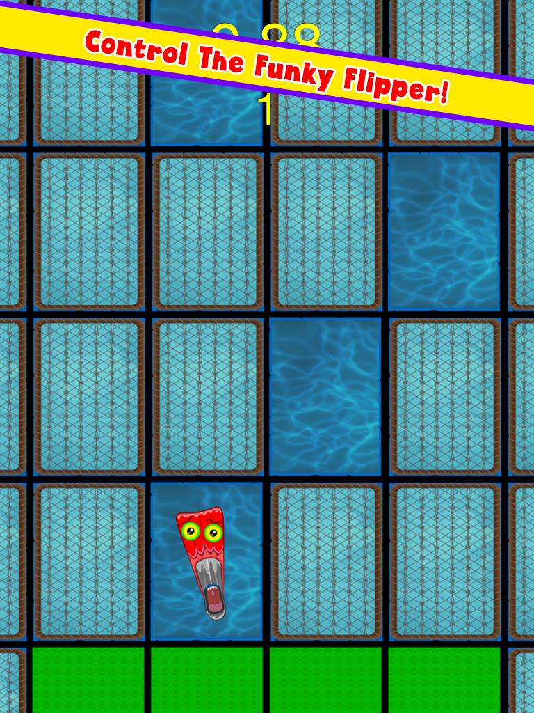 Funky Squid Goes A Walking - ipad2
