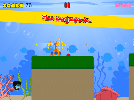 Funky Squid Goes Running - ipad