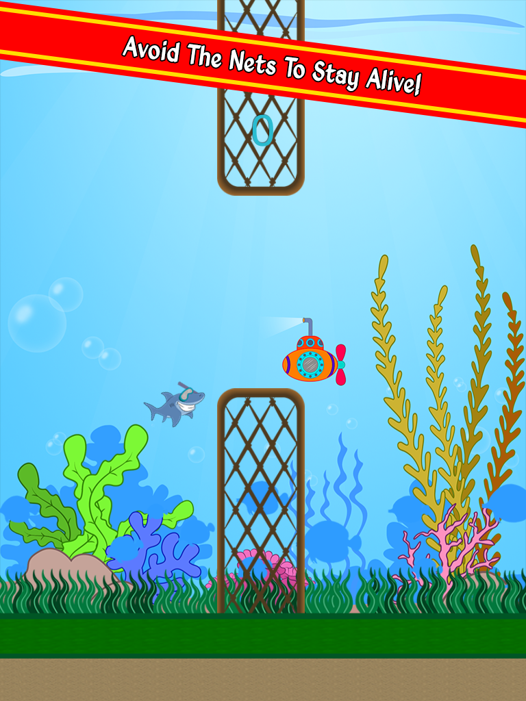 Flappy Funky Squid - ipad2