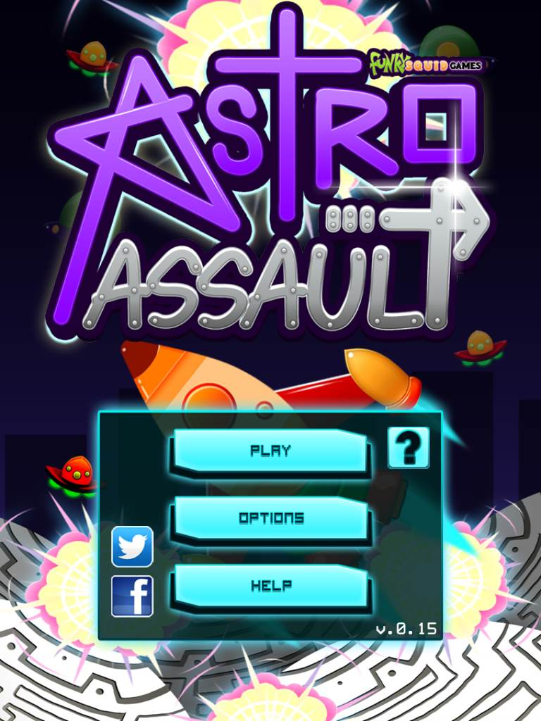 Astro Assault – Alien Invasion - ipad2