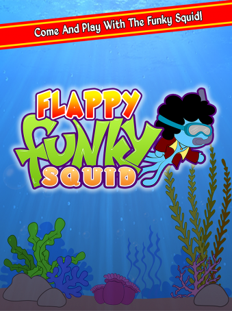 Flappy Funky Squid - ipad