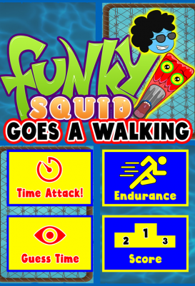 Funky Squid Goes A Walking - android_tablet4