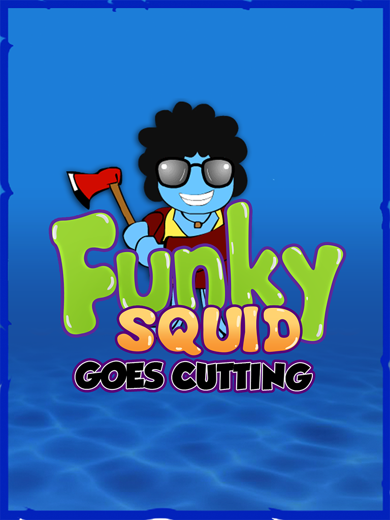 Funky Squid Goes Cutting - ipad2