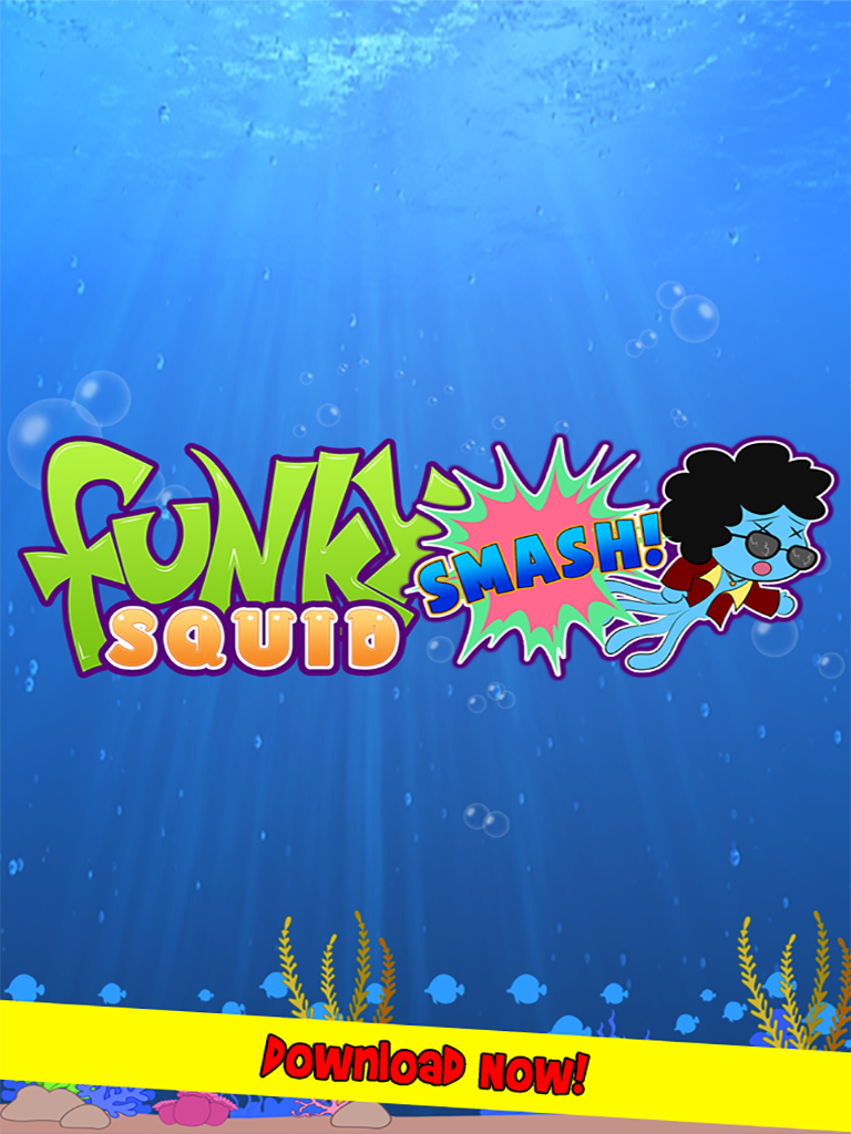 Funky Squid Smash - ipad2