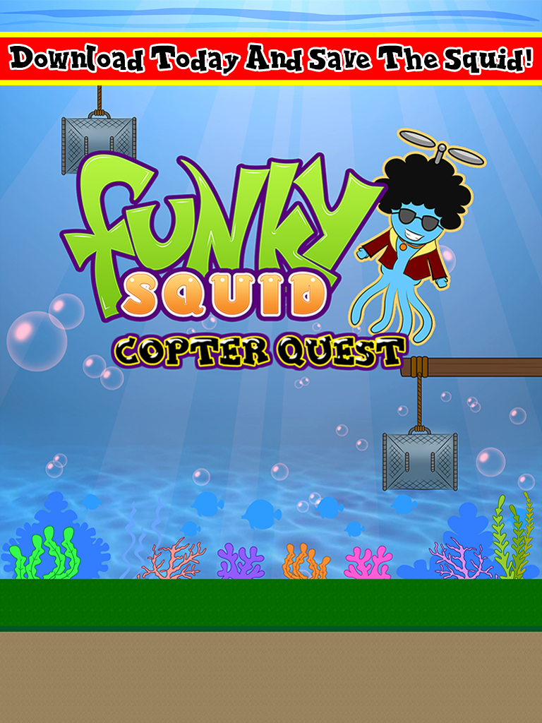 Funky Squid Copter Quest - ipad2