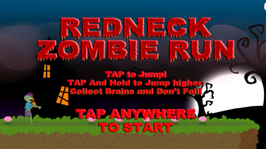 Redneck Zombie Run - iphone