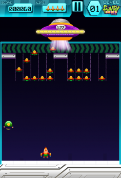 Astro Assault – Alien Invasion - android_phone5