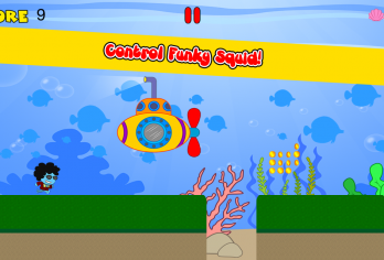 Funky Squid Goes Running - android_phone3