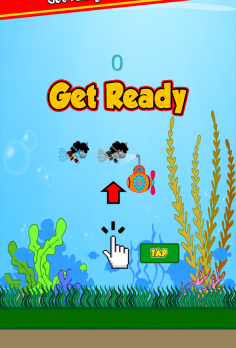 Flappy Funky Squid - android_phone3