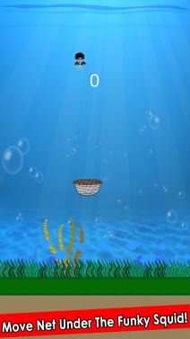 Catch Funky Squid - iphone1
