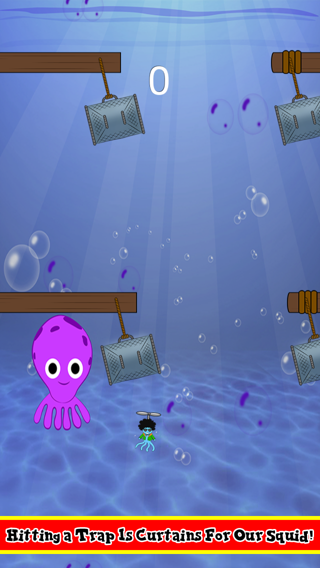 Funky Squid Copter Quest - iphone1