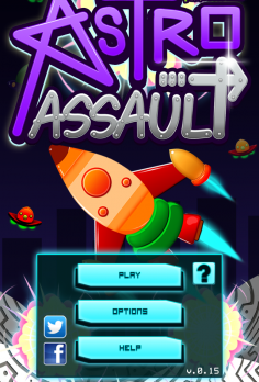 Astro Assault – Alien Invasion - android_phone3