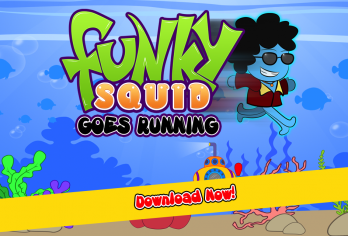 Funky Squid Goes Running - android_phone5
