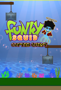 Funky Squid Copter Quest - android_phone5