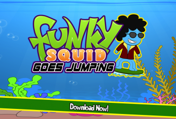 Funky Squid Goes Jumping - android_phone3