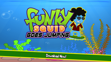 Funky Squid Goes Jumping - iphone1