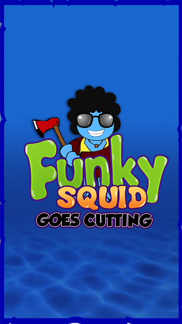 Funky Squid Goes Cutting - iphone1