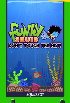 Funky Squid Don't Touch The Net - android_phone5