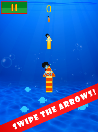 Swinging Arrows With The Funky Squid - ipad