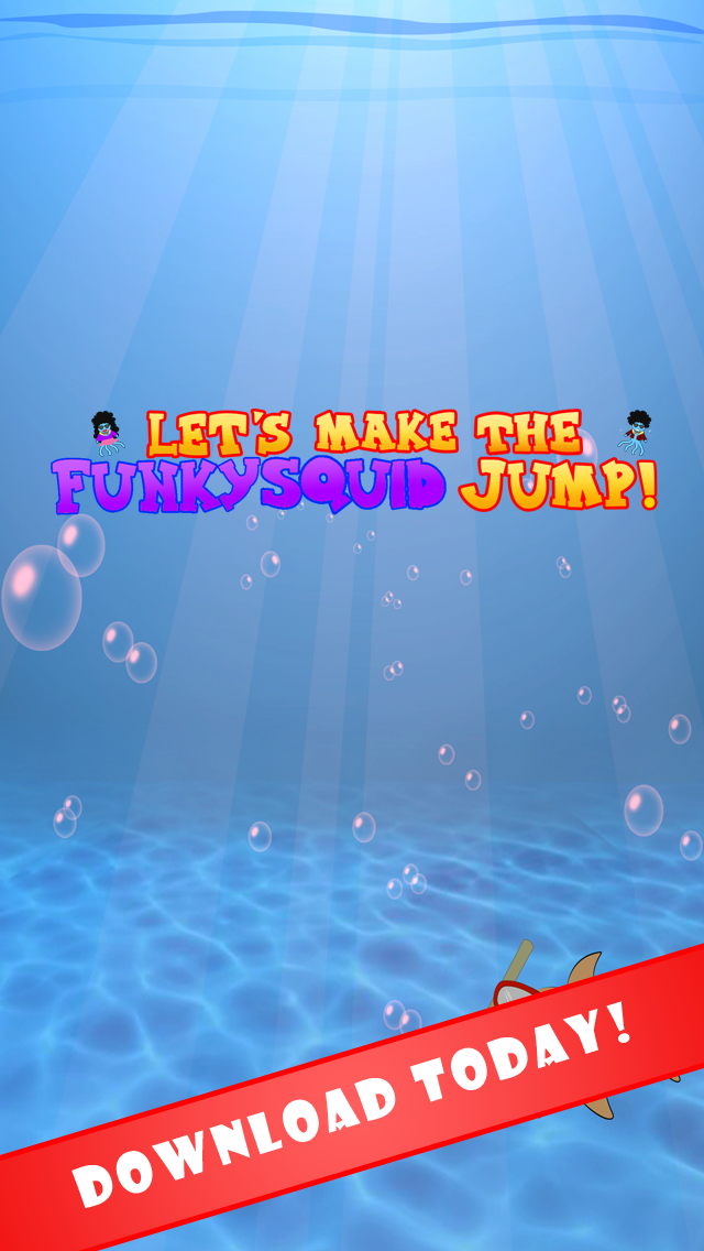 Let's Make The Funky Squid Jump - iphone1